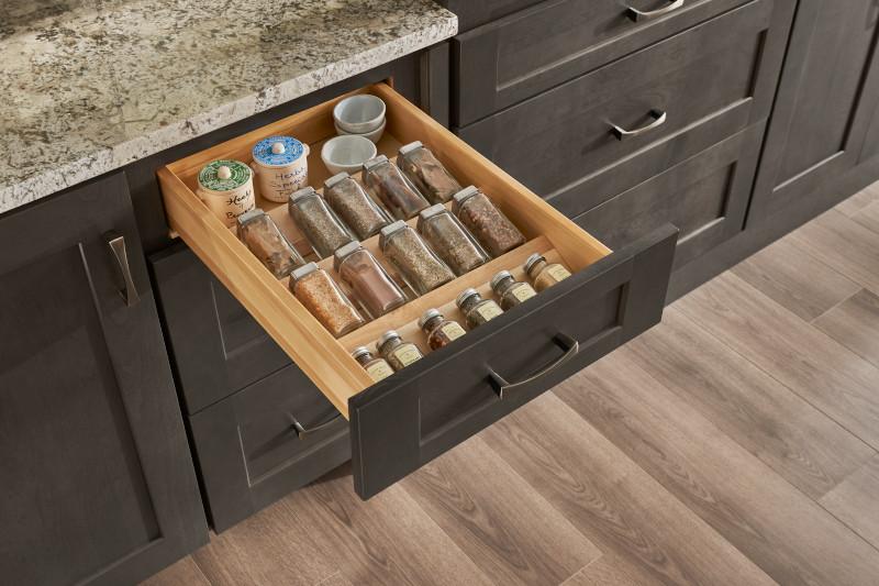 Kitchen Cabinet Storage Organization Solutions American Woodmark Cabinets