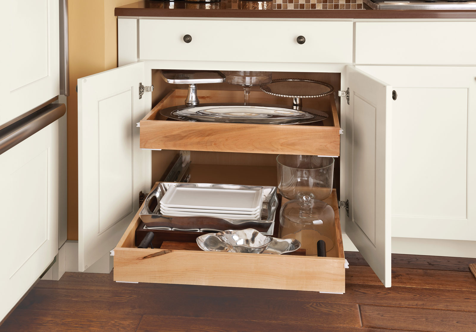 Deep Roll Out Drawers