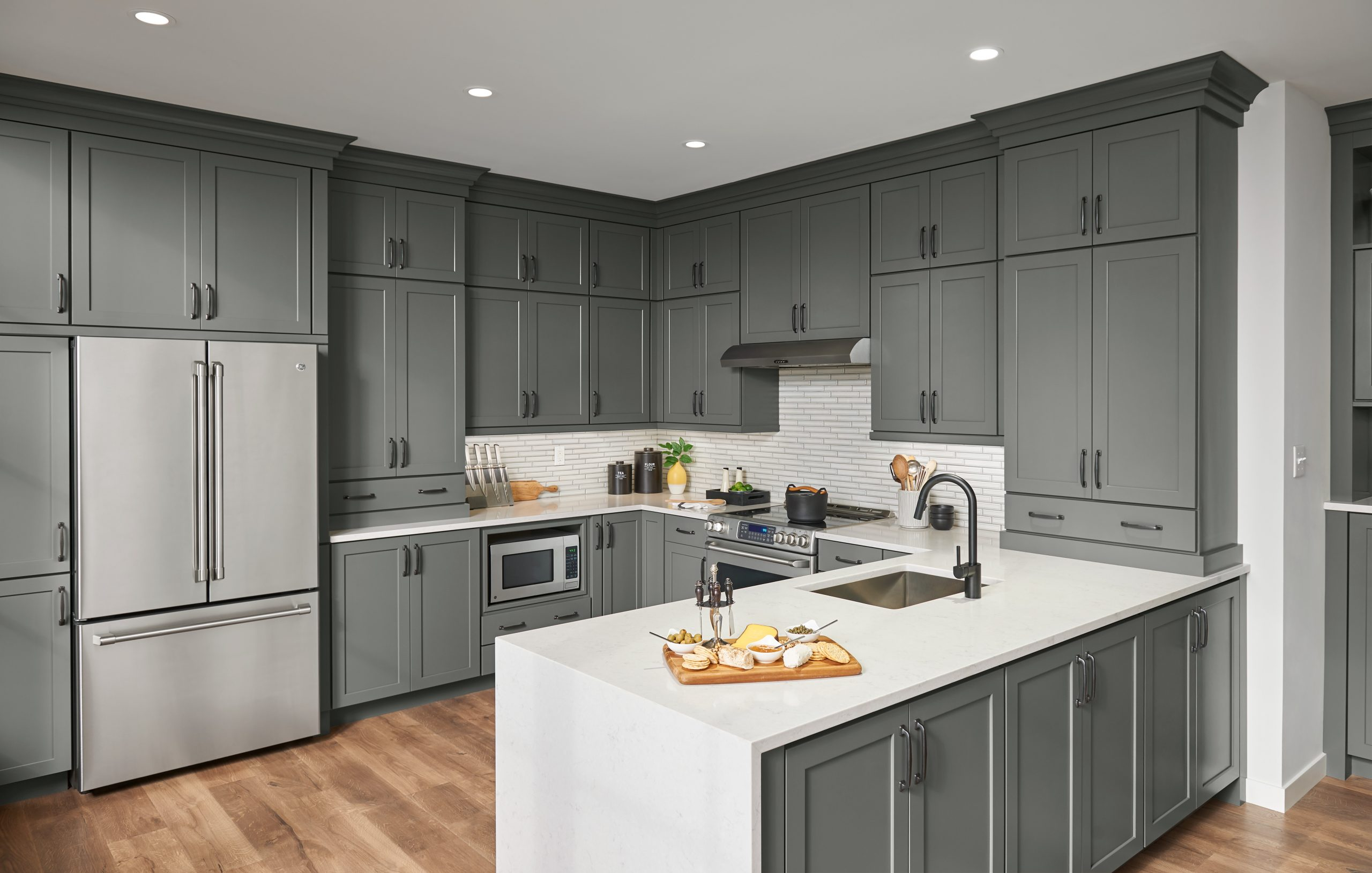 Leesburg Collection American Woodmark Cabinets